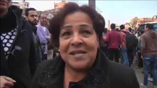 وقفة مناهضة لمقتل الضحايا المصريين بليبيا في القاهرة
