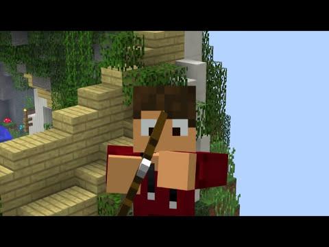 SKYWAR - DESAFIO DO ARCO E FLECHA! - Minecraft