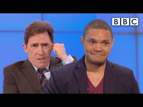 Did Trevor Noah prank call people as Nelson Mandela? | Would I Lie to You? - BBC