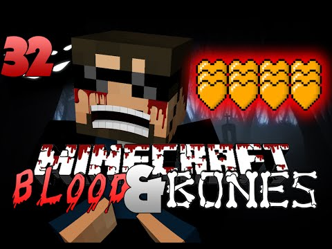 Minecraft FTB Blood and Bones 32 - EVEN MORE HEARTS
