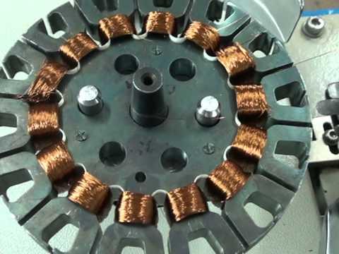 SPARK CONTROLS, Autoamtaic Ceiling fan winding machine (Dual Head)  CF-10