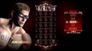 Mortal Kombat 9 - Johnny Cage Gameplay