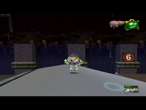 Toy Story 2 Walkthrough level 14 Tarmac Trouble