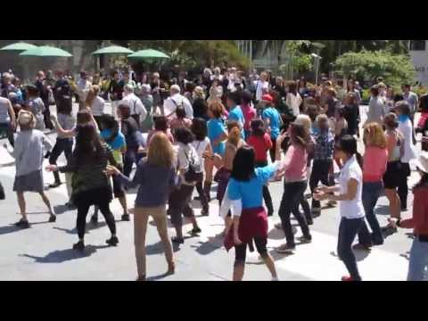 Bay Area National Dance Week 2013 Union Square San Francisco California