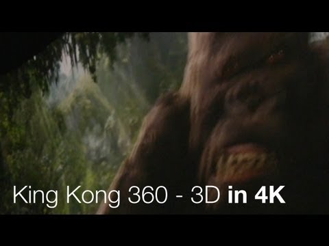 King Kong 360 - 3d - 4k - Studio Tour - Universal Studios Hollywood video
