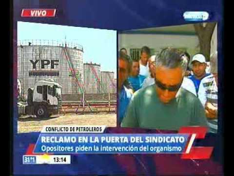 Petroleros piden intervención del sindicato / La respuesta de Dante González