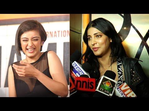 Shruti Hassan reacts on Akshara's debut film 'Shamitabh'