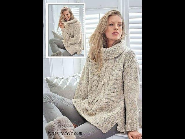 Вязание Свитера Спицами - фото-модели - 2019 / Knitting Sweater Knitting Photo