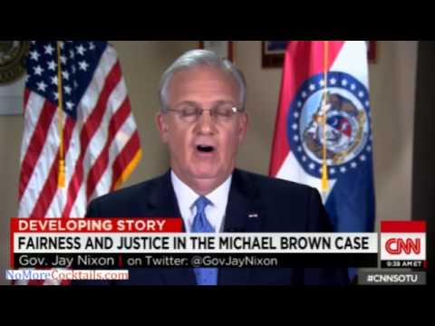 Dem Gov Jay Nixon refuses to say if he has confidence in county prosecutor in Michael Brown case