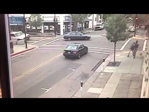 Un perro guía salva a dos personas de ser atropelladas