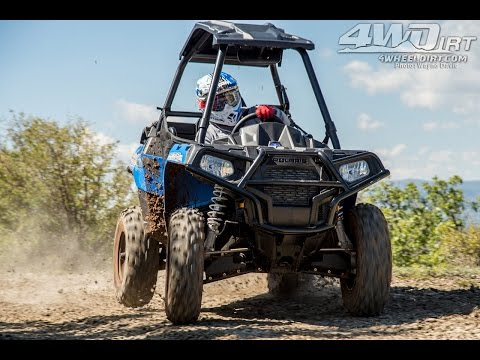 2015 Polaris Sportsman ACE 570 First Ride - 4WheelDirt