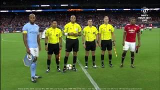 Manchester United vs Manchester City 2-0 full match 21/7/2017