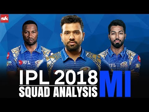 IPL 2018 Team Update: Mumbai Indians Squad Analysis | Sportskeeda