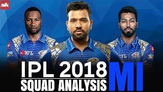 IPL 2018 Team Update: Mumbai Indians Squad Analysis | Sportskeeda