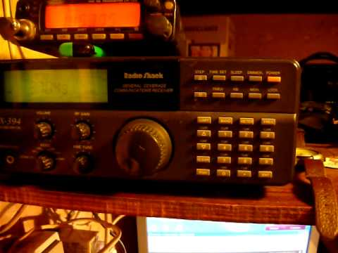 RADIO SHACK DX 394 IN 80 METER BAND