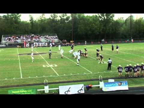 Pulaski  Academy 36 to Central Arkansas Christian 0 Football 7th Grade Game 09/27/12