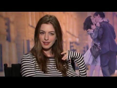 Anne Hathaway gets offended during interview