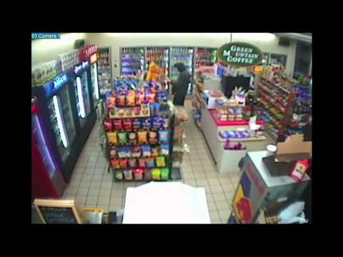 Tsarnaev Trial: Shell Gas Station Surveillance Video