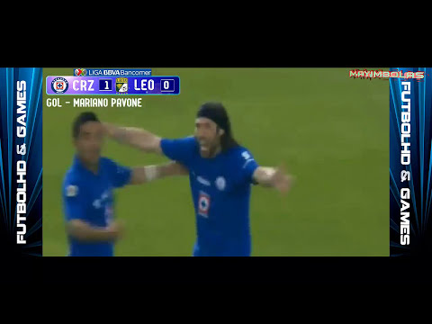 Cruz Azul vs Leon 1-0 Gol Mariano Pavone Liguilla MX 2014 Cuartos de Final VUELTA