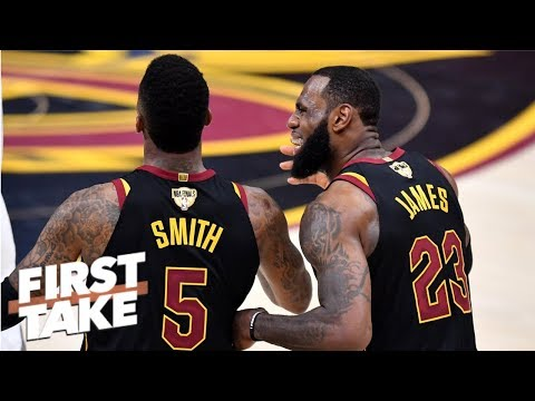 Until LeBron wins another title, JR Smith will be known for Finals blunder – Stephen A. | First Take