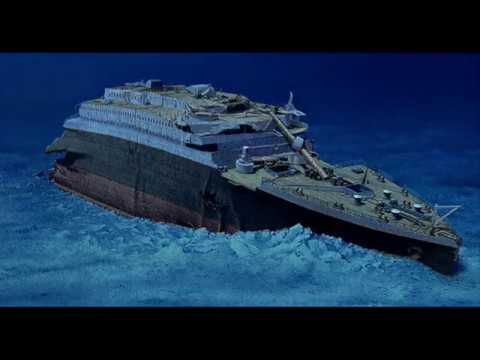 Wreck Of The Titanic How Much Time Is Left Bow Section