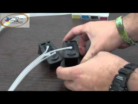 Instalacion de sistema continuo de tinta para impresoras de cartucho