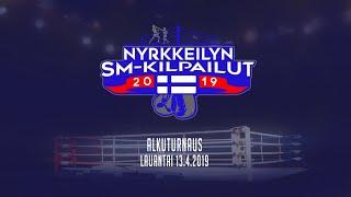 Nyrkkeilyn SM-kilpailut 2019 alkuturnaus - lauantai 13.4.2019 päiväottelut