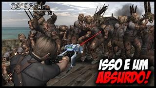Os 5 MODS mais IMPOSSÍVEIS de Resident Evil 4 (VAI ENCARAR ?)
