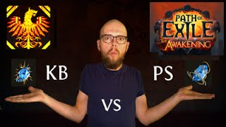 [Path of Exile 2.0] Kinetic Blast vs. Power Siphon - What's the better Wander?