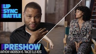 Tracee Ellis Ross vs. Anthony Anderson (Preshow) | Lip Sync Battle