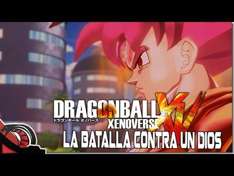 LA BATALLA CONTRA UN DIOS | Dragon Ball Xenoverse  C/ None