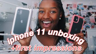 iphone 11 unboxing + first impressions 2019