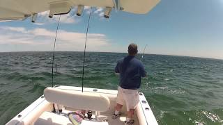 Striper Fishing - Cape Cod 2012