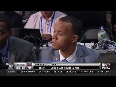 June 26, 2014 - ESPN - Miami Heat Traded up in NBA Draft to Acquire Shabazz Napier from Hornets