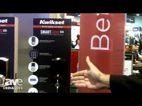 CEDIA 2014: Kwikset Displays SmartCode 916 Touch Screen Lock