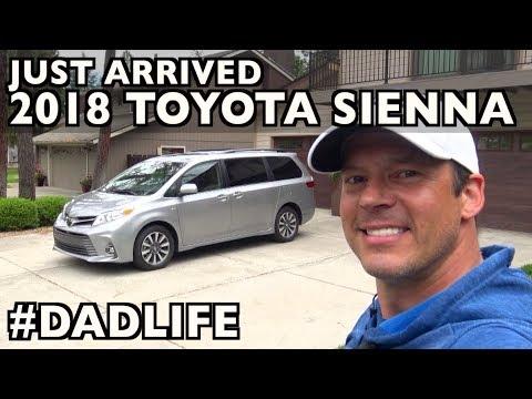 Just Arrived: 2018 Toyota Sienna Family MiniVan on Everyman Driver