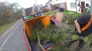 POV Forst ST6P Petrol Wood Chipper