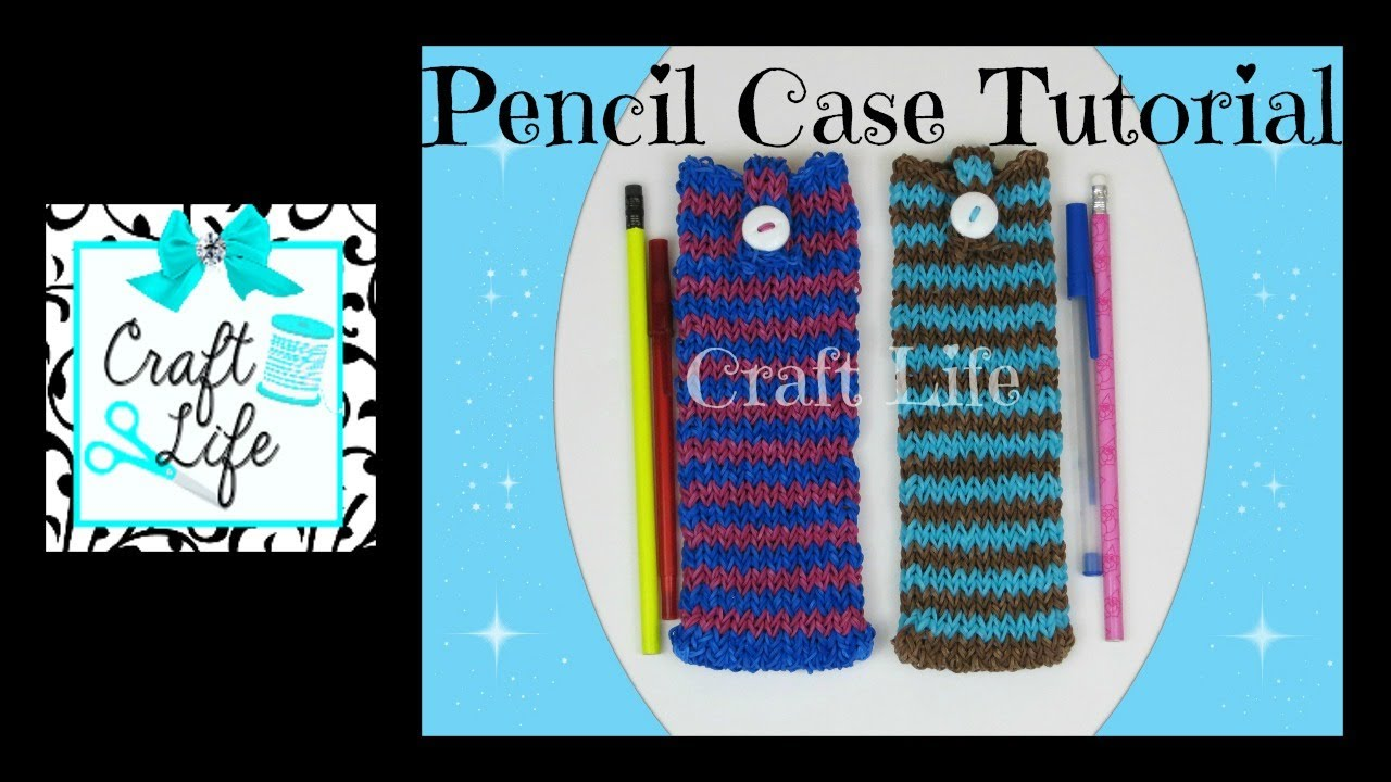 Craft Life Pencil Case Pencil Pouch Tutorial On One