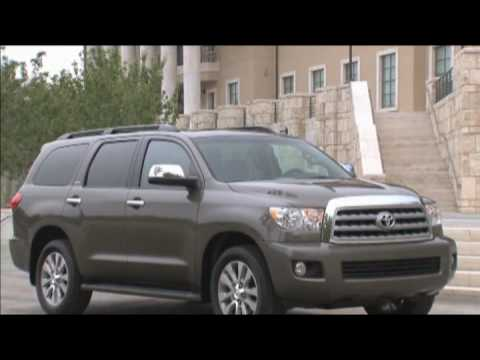 New Toyota Sequoia 2010 Exterior Video