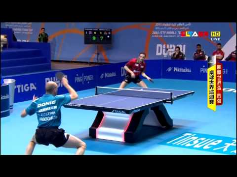 2015 World Team Cup MT-SF2: AUSTRIA Vs PORTUGAL [HD] [Full Match/Chinese]