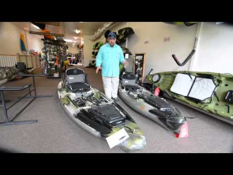 Jackson Kayak Big Rig and Coosa HD Comparison