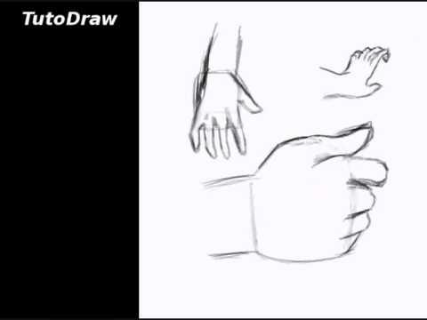 comment dessiner des mains qui se tiennent