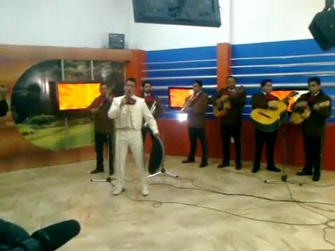 Fernando Cuevas el lobo y mariachi Bicentenario en televisa cuernavaca sonprosa