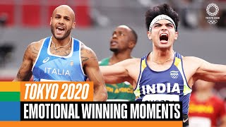 The joy of winning  Top Moments