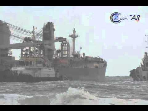 Reencausado a canales de navegación barco que había encallado en LC