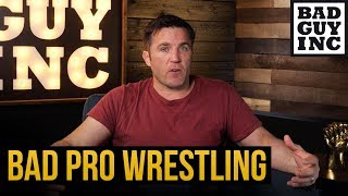 What happened to professional wrestling?