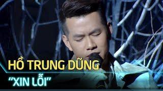 Hồ Trung Dũng hát XIN LỖI đầy cảm xúc tại Giải Mai Vàng 2018