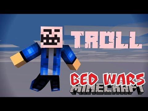 КАК ЗАТРОЛЛИТЬ ИГРОКОВ НА БЕД ВАРСЕ [Quick Bed Wars Minecraft Mini-Game]