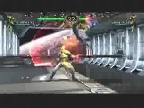 Soul Calibur 4 Gameplay - Apprentice vs Darth Vader