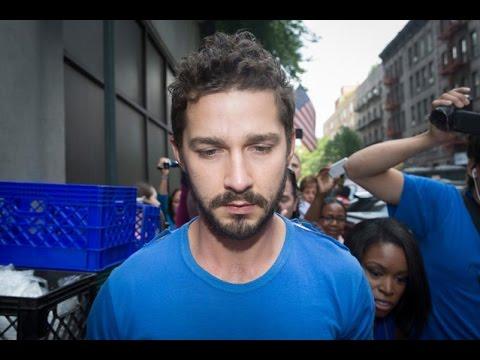 Shia LaBeouf Arrest Funny Jimmy Kimmel Story